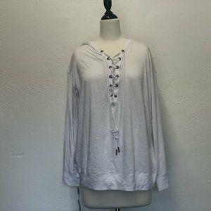 NWT Calvin Klein Icy-Wash Drop-Shoulder T-Shirt